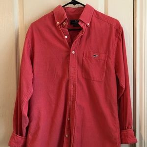 Vineyard vines corduroy button down